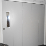 Sliding Wall Partition in Ackton 4