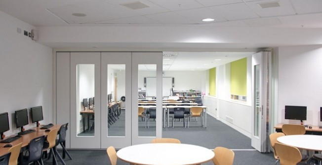 Office Partition Walls in Brunery