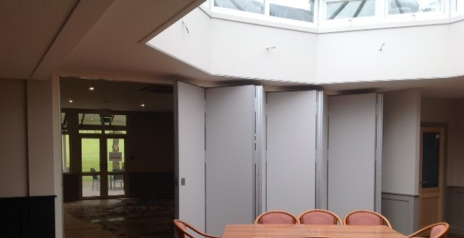 Demountable Folding Partitions in Betchworth